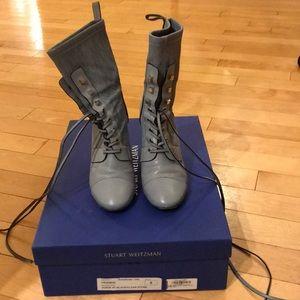Stuart Weitzman blue boots